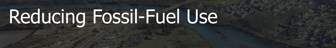 Community Goal: Reduce Fossil Fuel Use