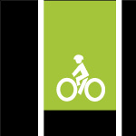 green bike lane image