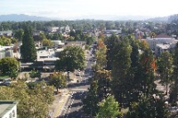 Eugene Airial view
