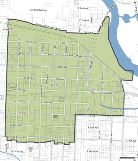 Map - Vertical Housing Development Zone