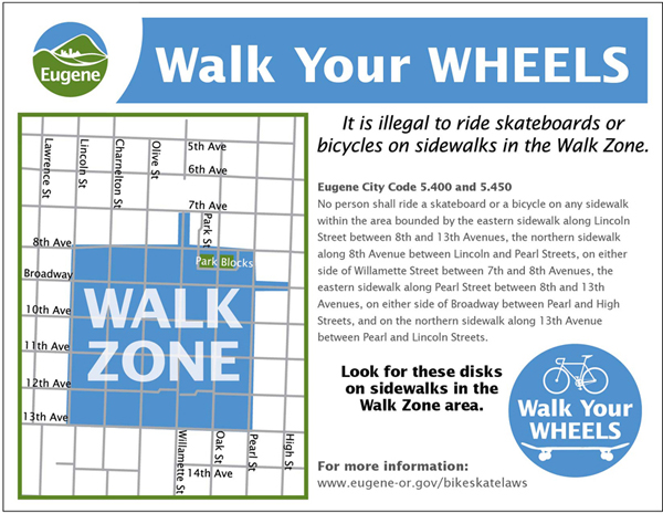 walk your wheels poster