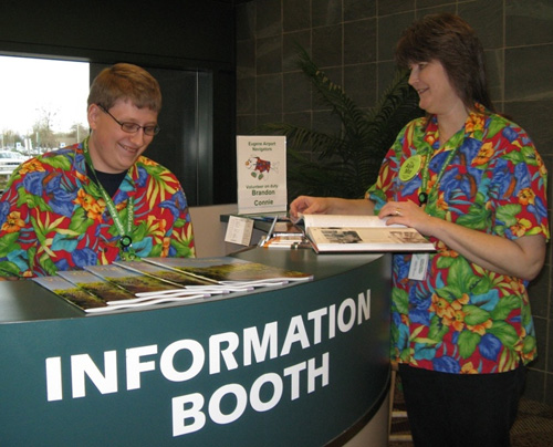 Eugene Airport Navigator Volunteers