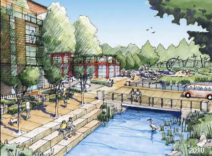 Proposed Eugene Riverfront Drawing 2