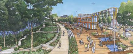 Proposed Eugene Riverfront Drawing 3