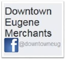 Downtown Eugene Merchants on Facebook