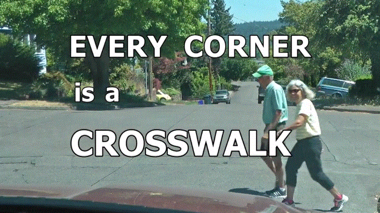 Every Corner is Crosswalk