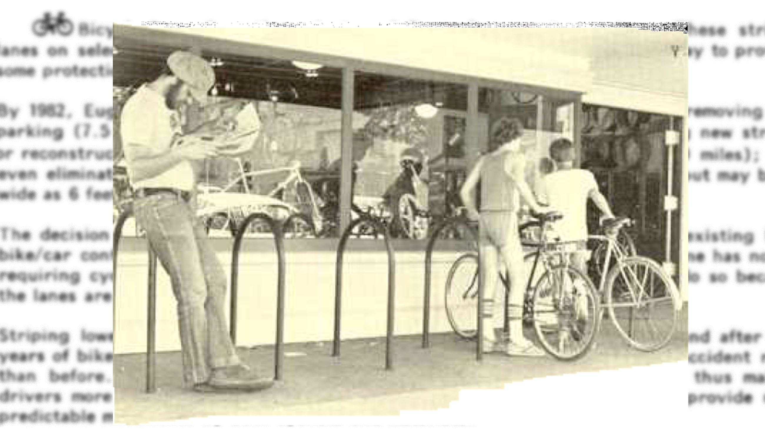 History of Eugene Bicycles