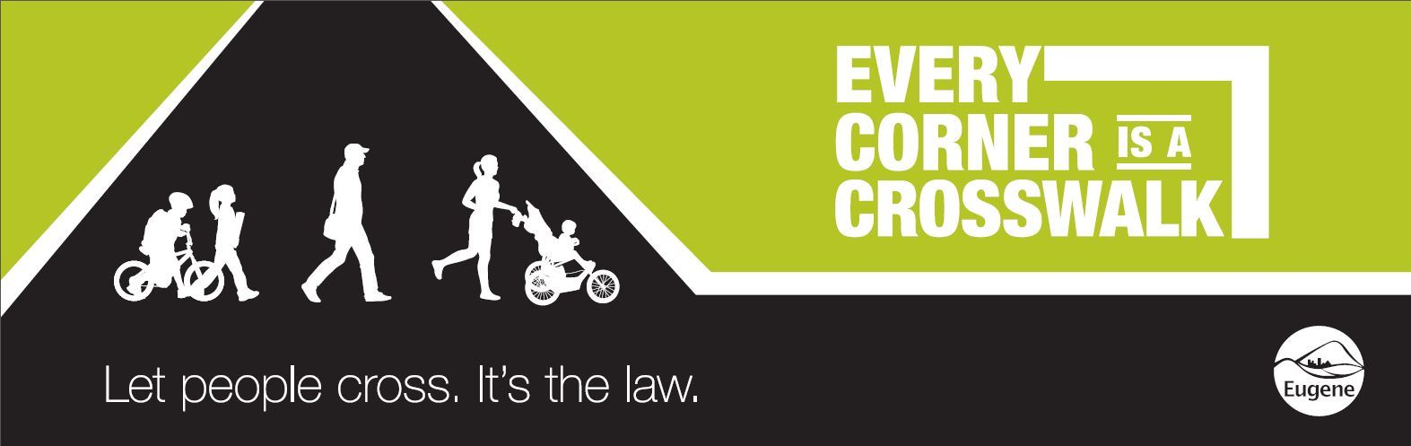 Every Corner is a Crosswalk Logo