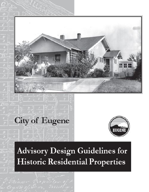 Eugene Historic Residential Design Guidelines