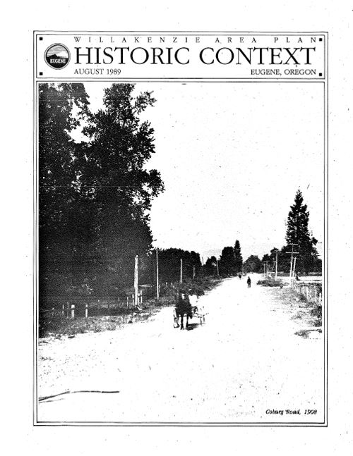 Willakenzie Historic Context