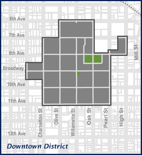Downtown District Map