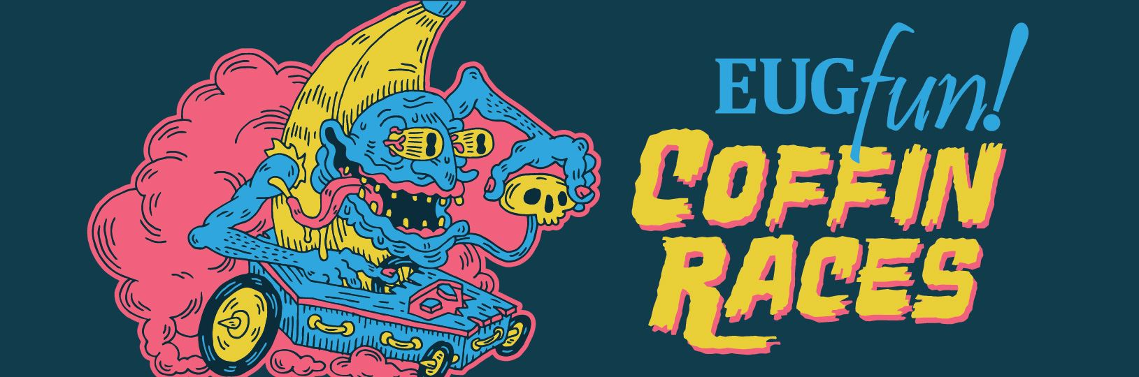 Coffin Races header