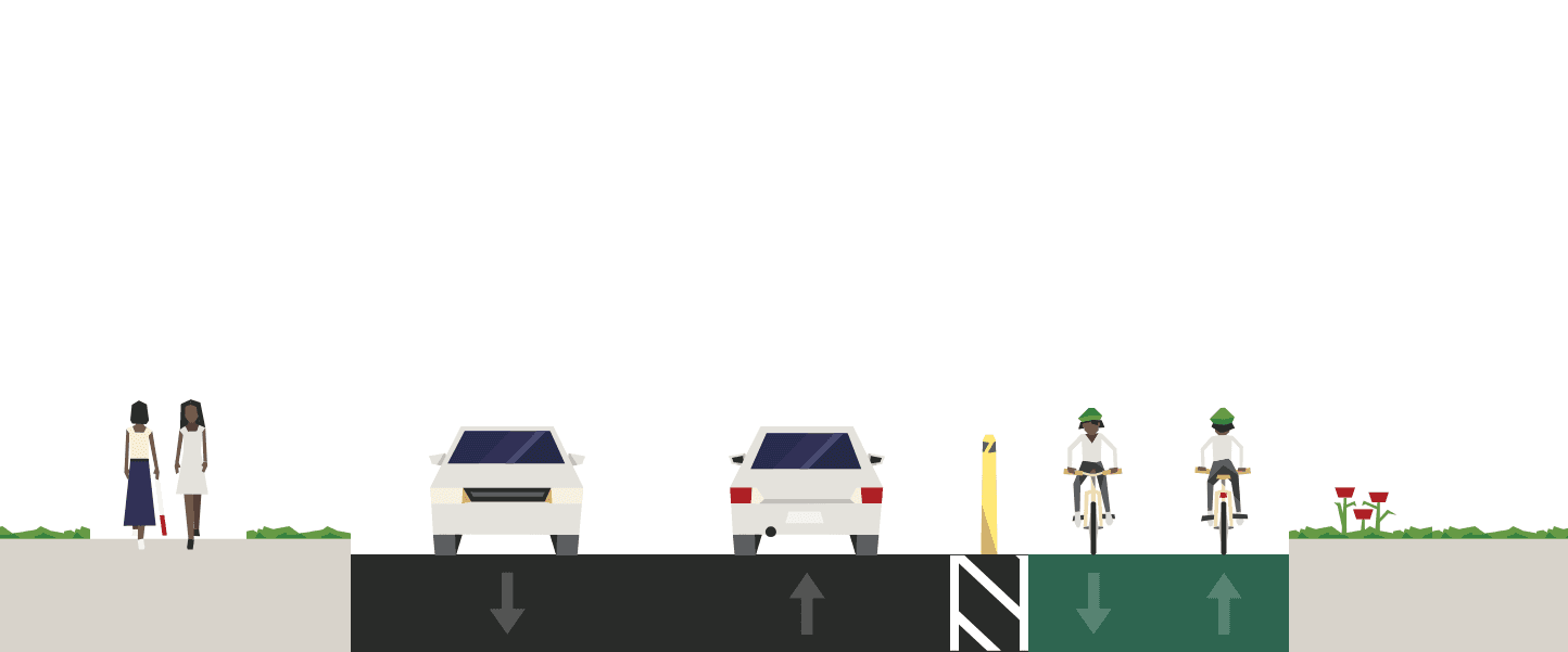 E-Amazon Bikeway Graphic Clear