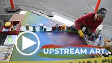 UpStream Art Video