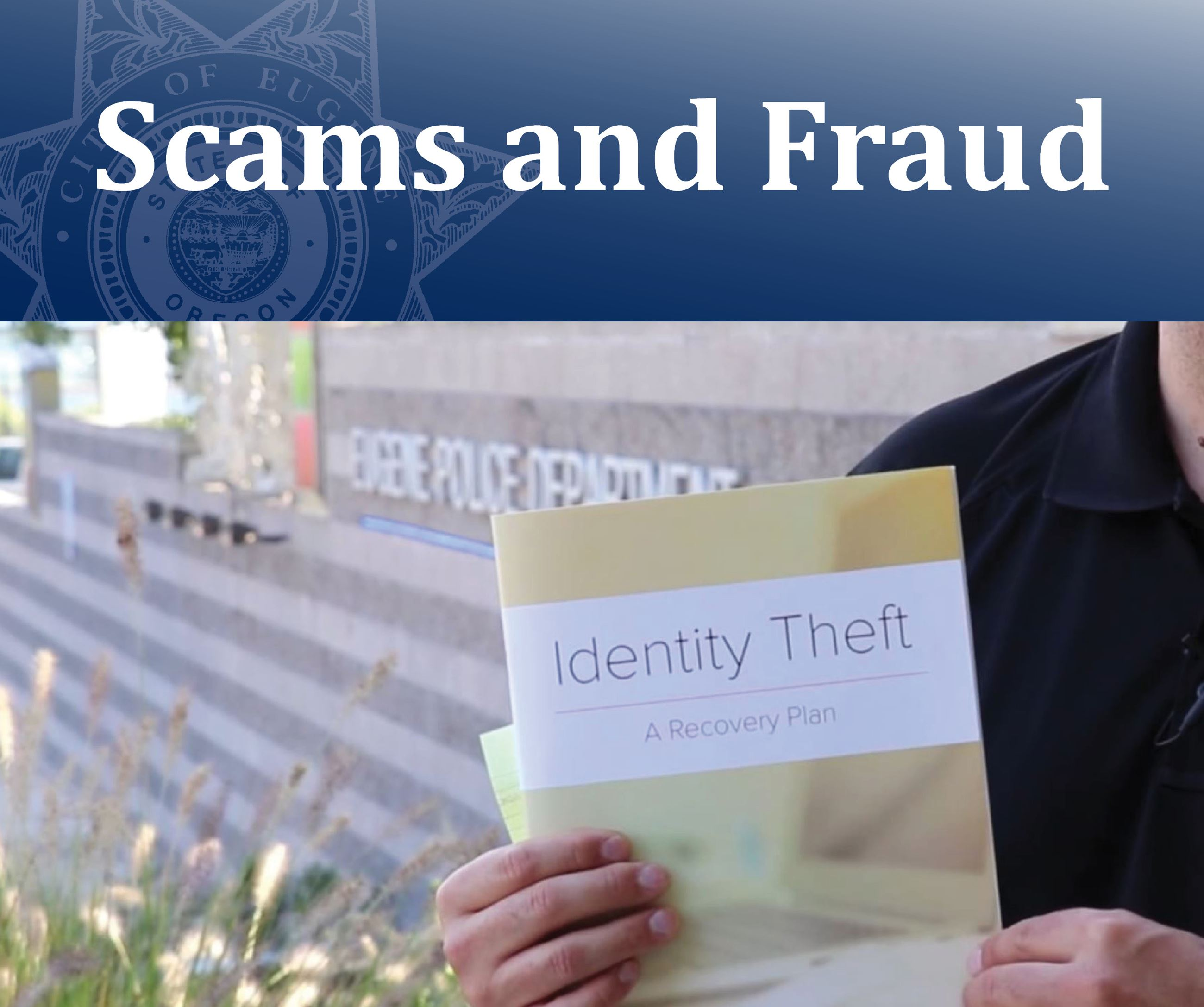 Scams and Fraud Opens in new window