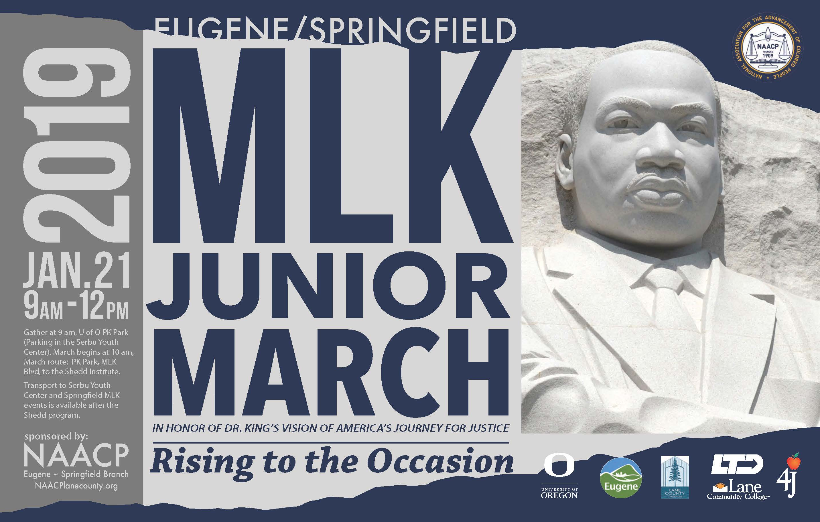 NAACP MLK MARCH POSTER 2019
