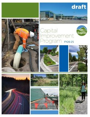 Draft FY20-25 Capital Improvement Program document cover
