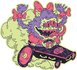 Coffin Racer graphic