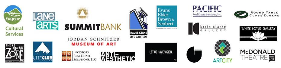 Visual Arts Week sponsor logos