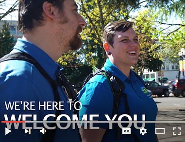 Video on Vimeo about Eugene's downtown ambassadors