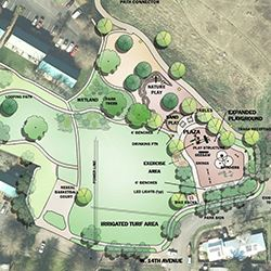 design concept for berkeley park
