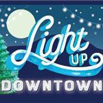 Light Up Downtown graphic