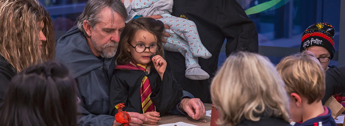Wizards, witches and Muggles of all ages enjoy Harry Potter Book Night last winter. Check out this winter's events at the Eugene Public Library.