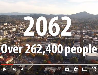 Video on YouTube about City of Eugene urban reserve planning