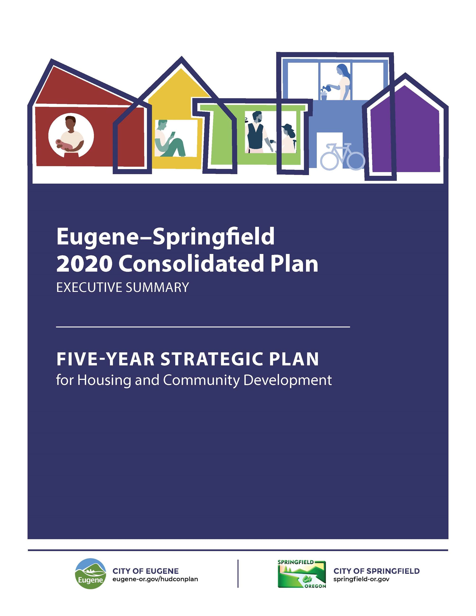 Image of Cover Page, Eugene-Springfield Executive Summary 04.23.20