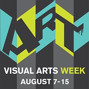 Visual Arts Week logo