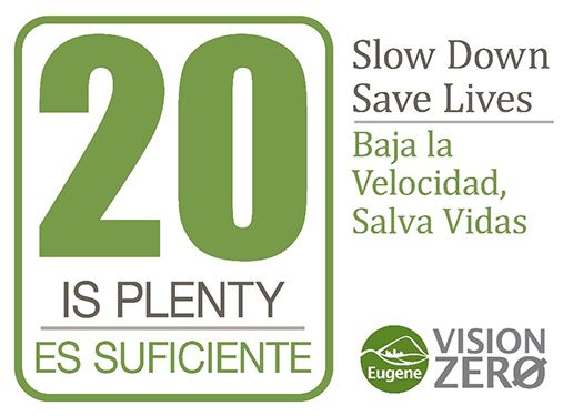 20 is Plenty - Slow down, save lives