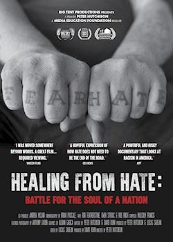 Healing From Hate - Cover