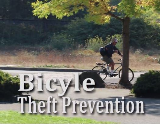 Bike Theft Prevention Photo of person on bicycle on street near trees