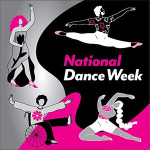 National Dance Week graphic