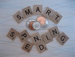 Smart Spending Scrabble Tiles