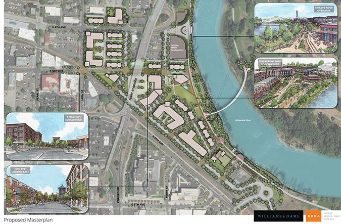 Proposed Master Plan Poster - Williams/Dames & Assoc