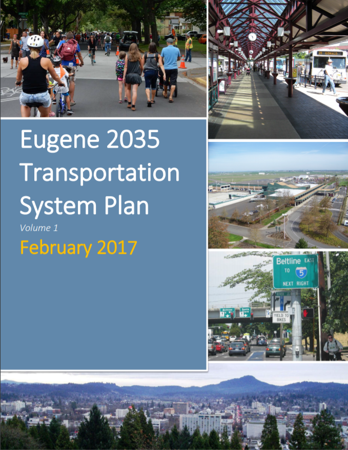Transportation System Plan Cover Photo