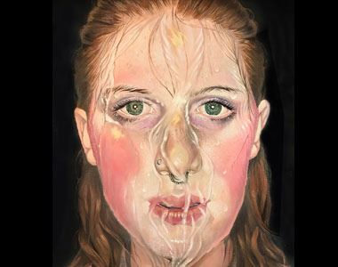 Elenor Soleil Self Portrait Peoples Choice Award