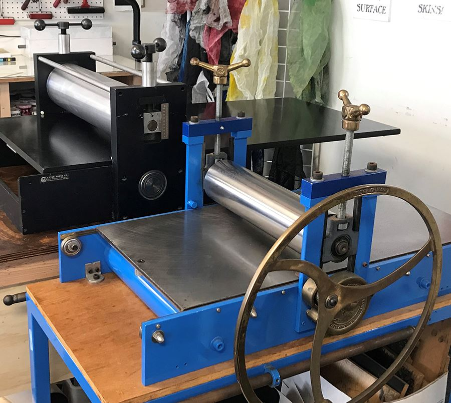 WP etching presses