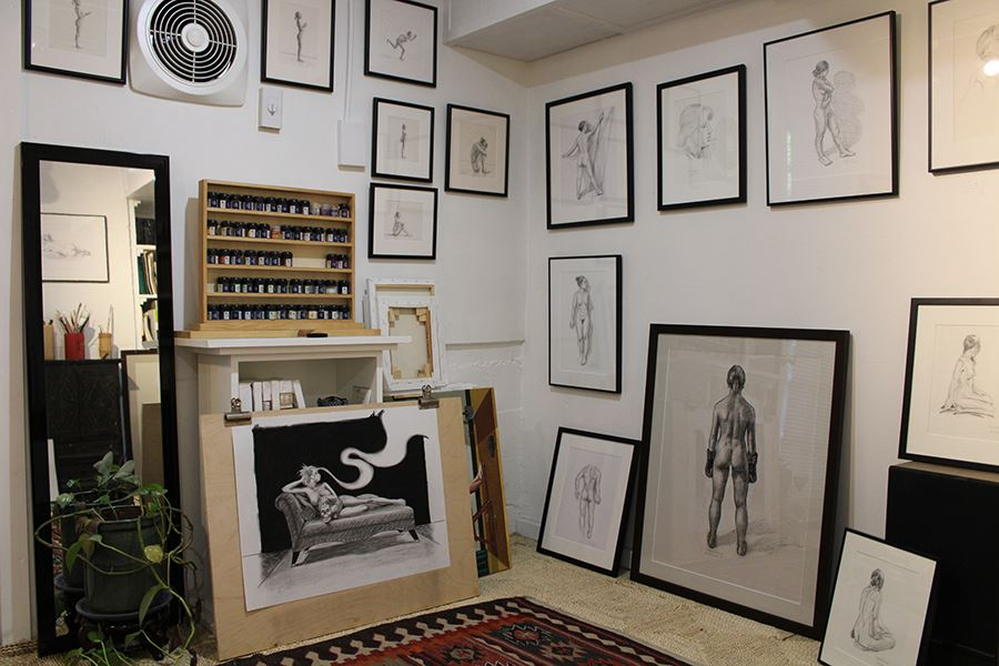 Will Mitchell Studio interior