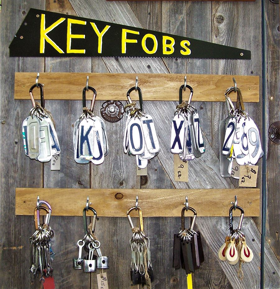 David Duckett key fobs
