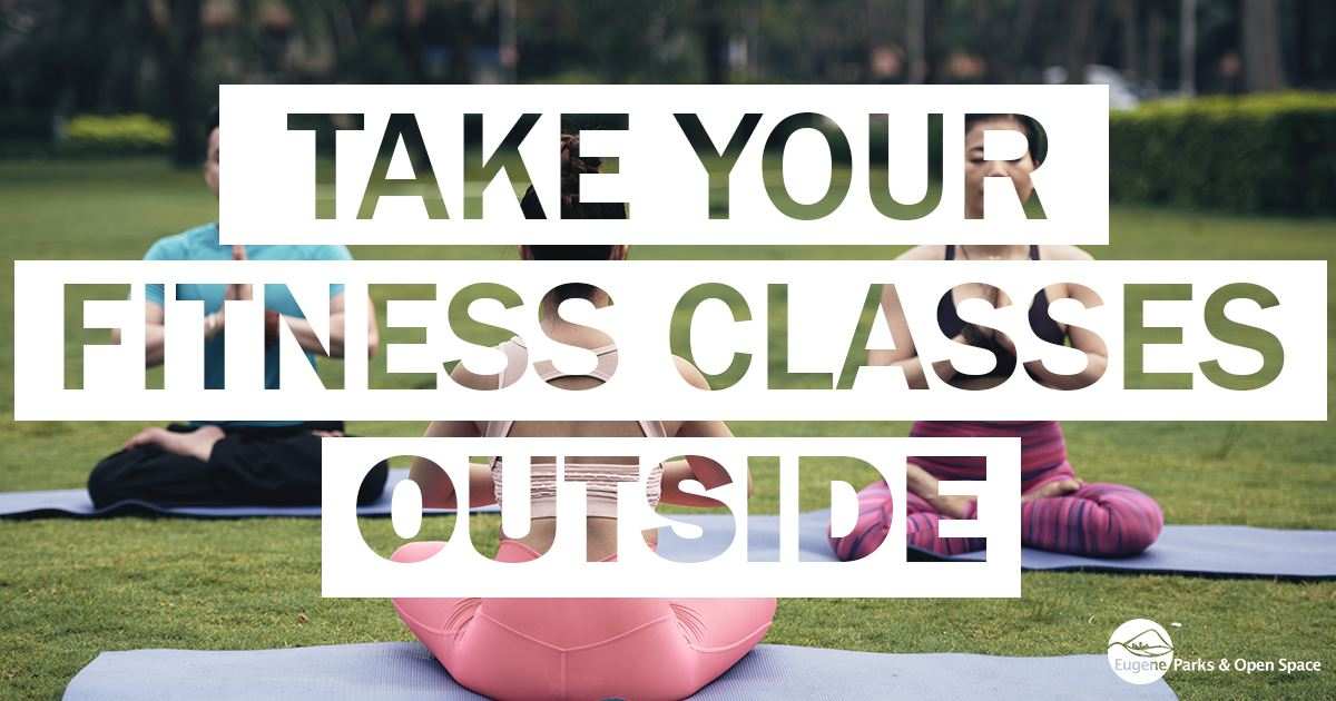 Take your fitness classes outside