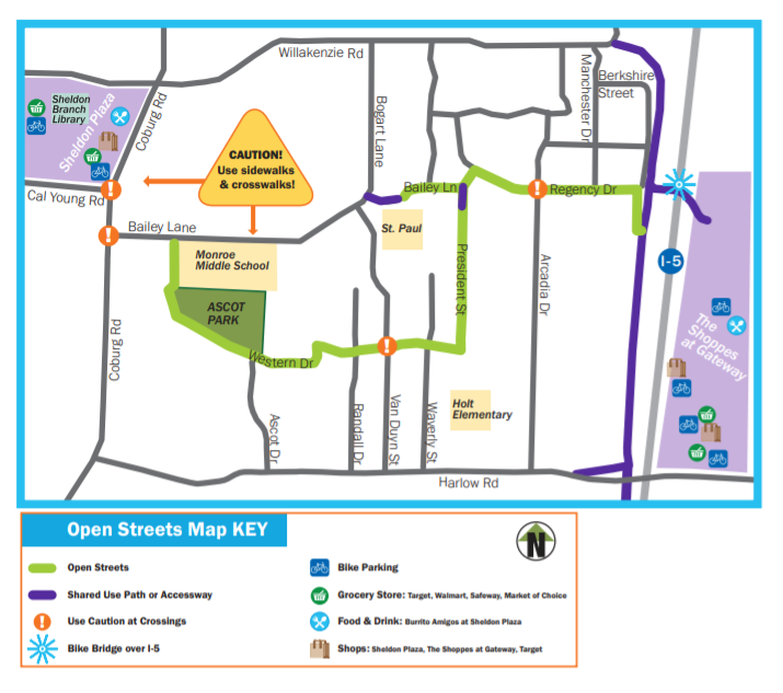Harlow Open Streets Map