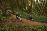 Shared use trail in Amazon Headwaters section of Ridgeline Trail system