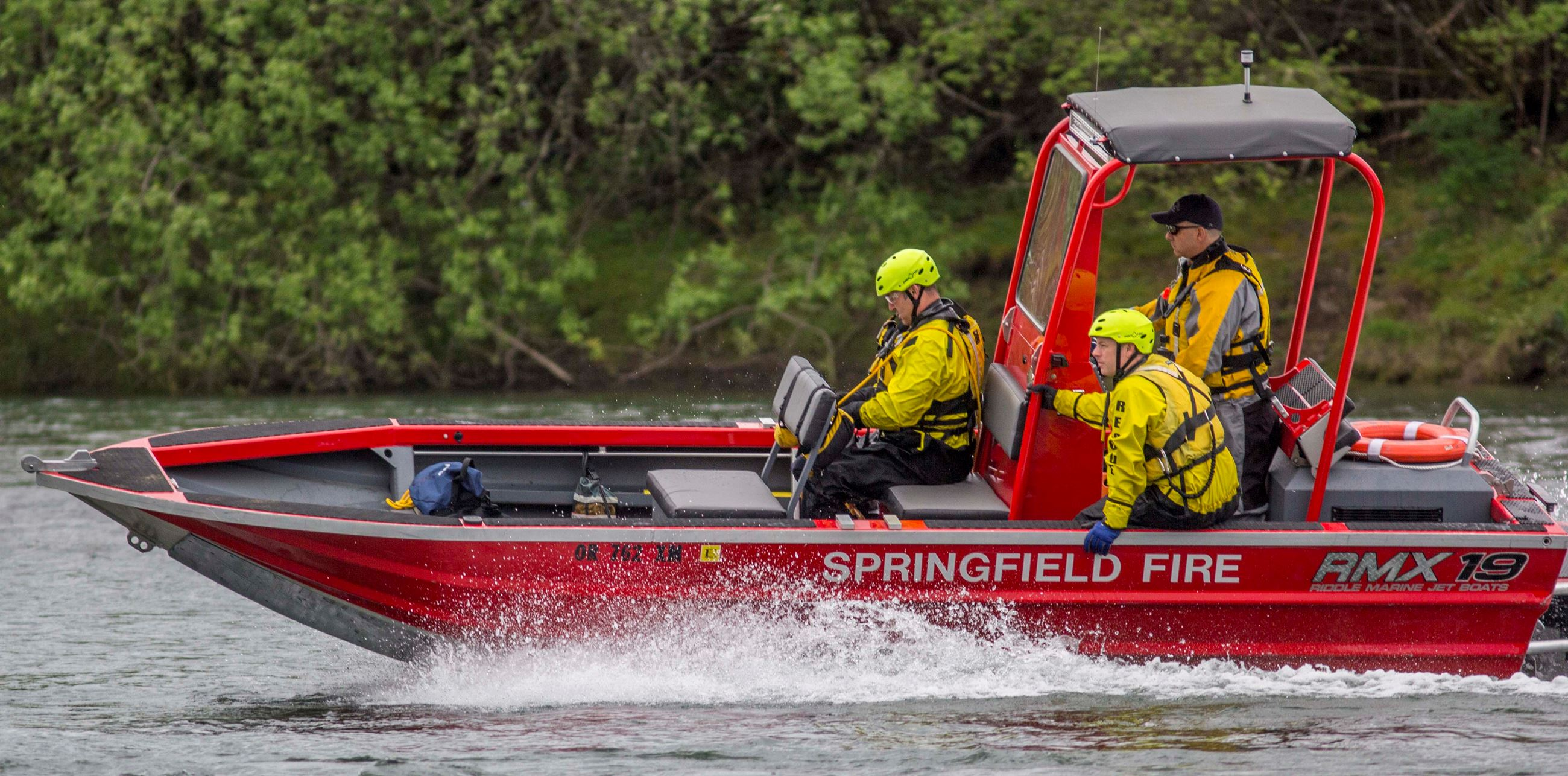 Eugene Springfield Fire Metro Water Rescue Team Members