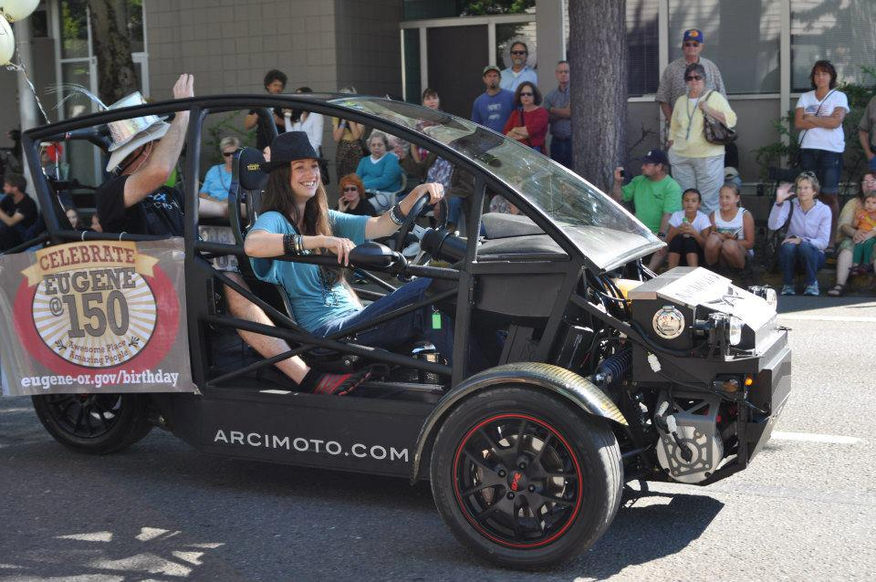 Arcimoto's electric car