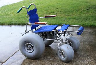 Thumbs Up Beach Wheelchair Landeez