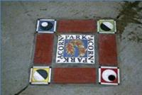 Acorn park sign