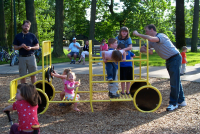 Children playing at Awbrey Park