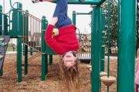 Child playing at Mangan Park